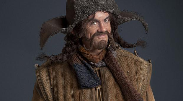 James Nesbitt as one of the dwarves in Peter Jackson's movie version of The Hobbit