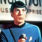 Leonard Nimoy as Star Trek's Mr Spock
