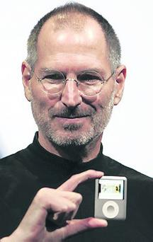 What's in a name: Steve Jobs and the iPod.