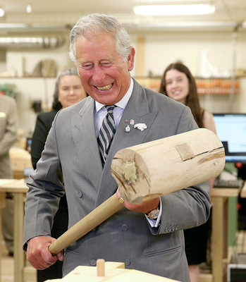 Subtle as a sledgehammer: Prince Charles during his visit to Canada