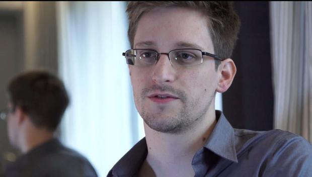 Edward Snowden was speaking to John Oliver on Last Week Tonight