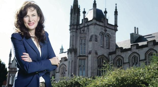 Taking the lead: Professor Deirdre Heenan at Magee campus