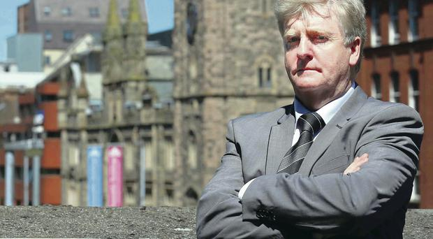 Taking a stand: Michael Connolly was a victim of clerical abuse