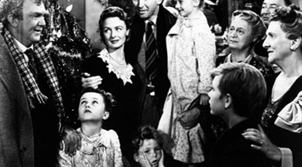 A scene from Its a Wonderful Life