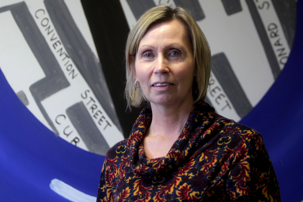 Linda Ervine is an outspoken advocate for the use of the Irish language among Protestants