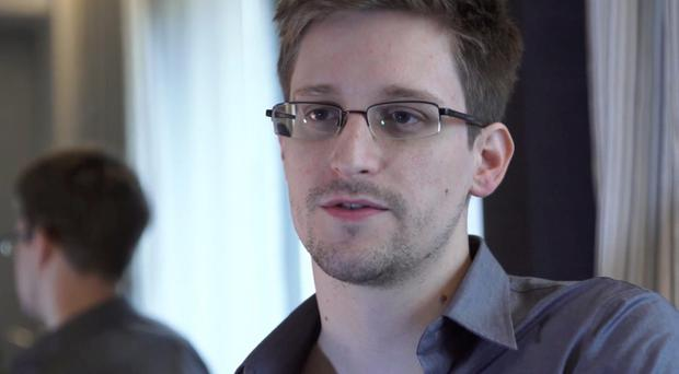 Whistleblower Edward Snowden accepted the Right Livelihood Award via video link from Russia