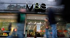 M&S says it strives to be inclusive and lets customers decide what fitting rooms to use