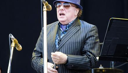 Upset: Singer Van Morrison was angry his concerts at the Europa were cancelled. Credit: David Jensen