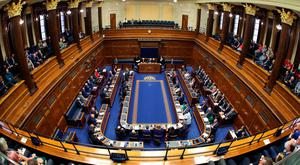 Financial debate: MLAs quickly opposed their pay rise after hearing the public's reaction