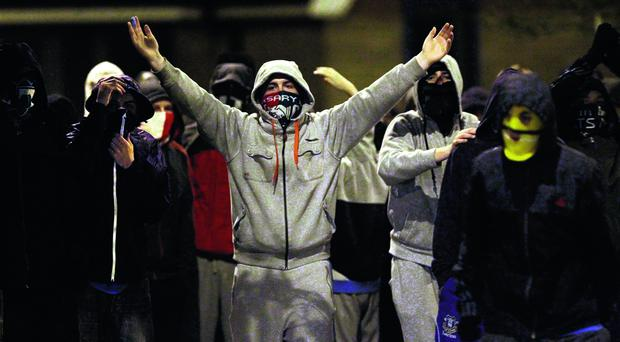 Stamp it out: children rioting need to face consequences for their actions, despite what Patricia Lewsley-Mooney says