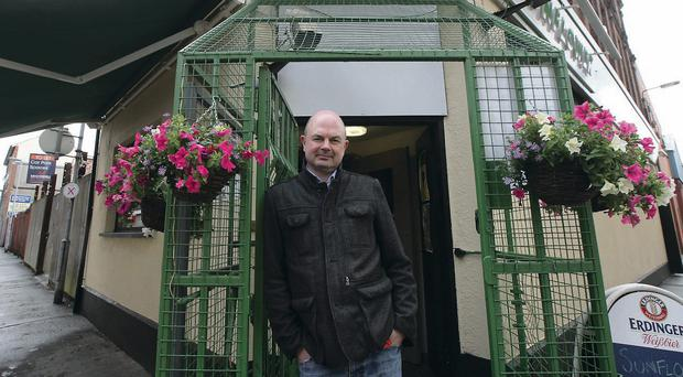 In full bloom: Pedro Donald outside the recently refurbished Sunflower