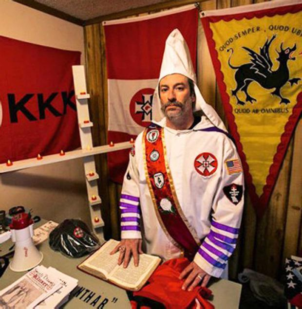 Frank Ancona, the Imperial Wizard of Traditionalist American Knights of the Ku Klux Klan