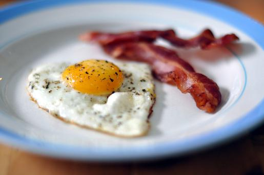 Vegans may snub eggs and bacon, but they can't force others to do likewise