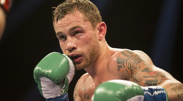 Honoured: Carl Frampton named Fighter of the Year