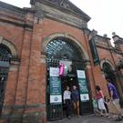 St George's Market in Belfast city centre is comparable with the best in Europe