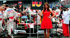 Formula One has ditched its 'grid girls' and darts will no longer have 'walk-on girls'