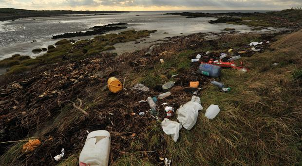 Total rubbish: in Northern Ireland 437 items of litter per 100m of beach were found last year
