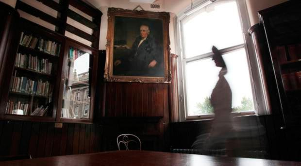 Belfast's Linen Hall Library is facing serious funding cutbacks