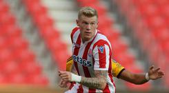 James McClean refuses to wear a poppy on his club shirt
