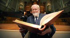 Belfast poet Michael Longley has called on unionists to embrace the Irish language