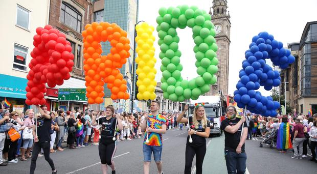 The BBC's decision to take part in Pride tomorrow has led to criticism in some quarters