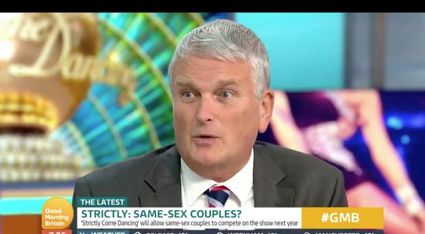 Jim Wells gave people something to shout about as they woke up to Good Morning Britain