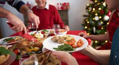 Tinned products can be saved and you can freeze fresh items and later defrost them on Christmas Eve.