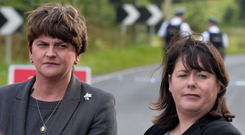 Arlene Foster and Michelle Gildernew could barely conceal their disdain for one another