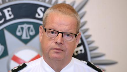 Little understanding: Chief Constable Simon Byrne