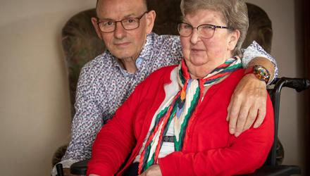 Heartbreak: Pat and Andy Cardy, parents of Jennifer Cardy