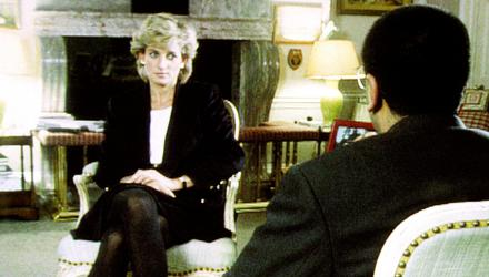 Interview: Diana, Princess of Wales speaks with Martin Bashir. Credit: BBC