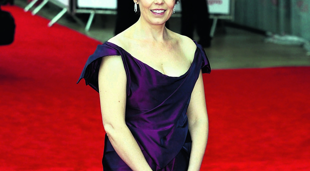 LONDON, ENGLAND - MAY 12: Olivia Colman attends the Arqiva British Academy Television Awards 2013 at the Royal Festival Hall on May 12, 2013 in London, England. (Photo by Tim P. Whitby/Getty Images)