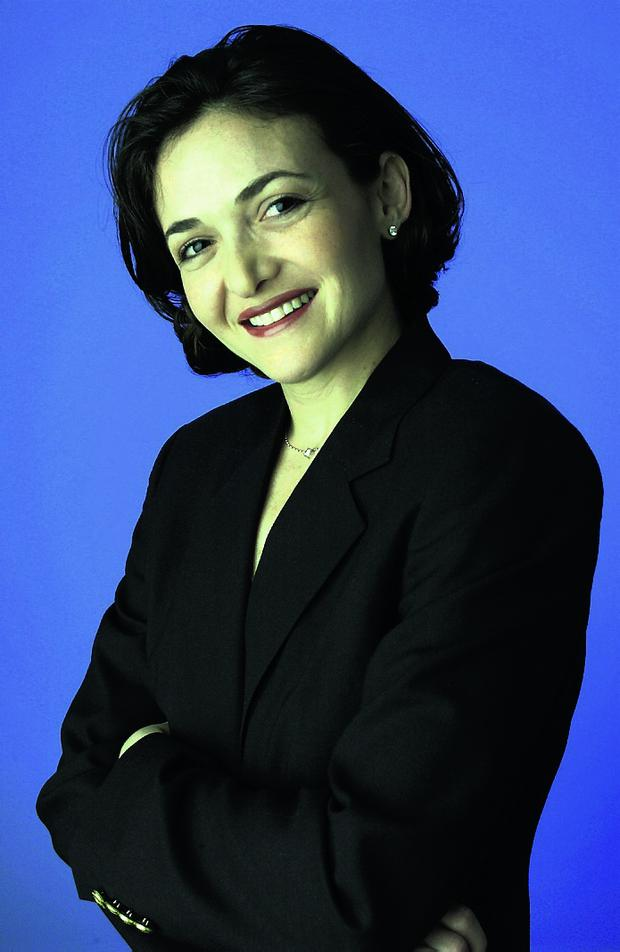 All cried out: Sheryl Sandberg