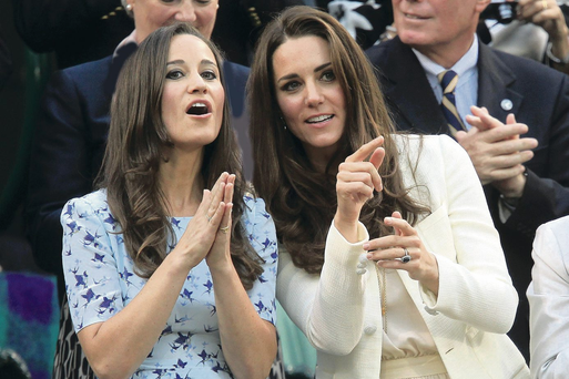 Price of fame: Pippa (left) gets flak because her sister married a prince