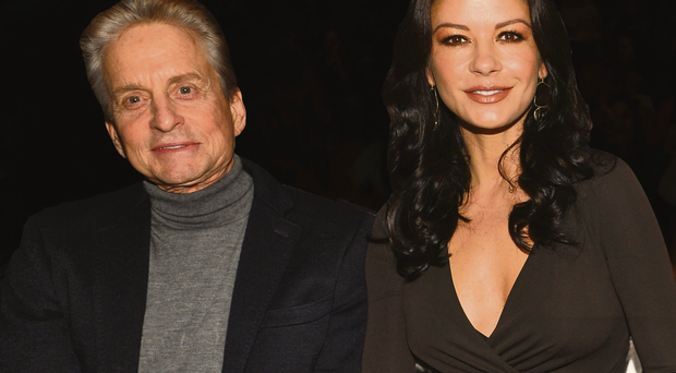 Time out: Michael Douglas and Catherine Zeta-Jones