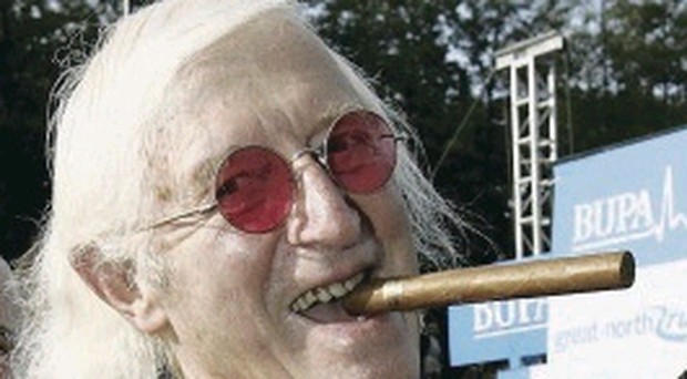 Serial offender: Jimmy Savile