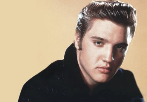 Rock king: Elvis Presley