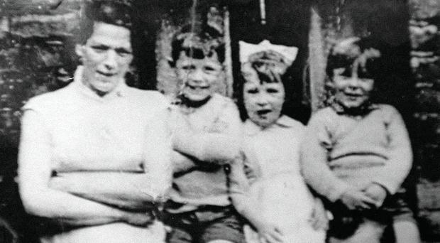 Jean McConville (left) who was murdered and secretly buried by the IRA in 1972