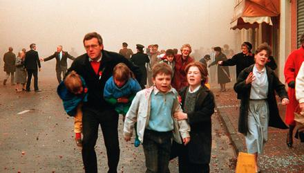 Atrocity: The Enniskillen Poppy Day massacre was one of the worst events in the history of the Troubles