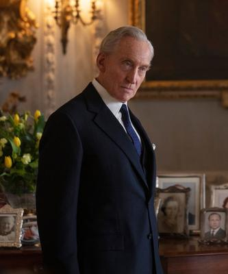 Victim: Charles Dance as Lord Mountbatten in The Crown