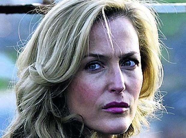 TV hit: Fall star Gillian Anderson
