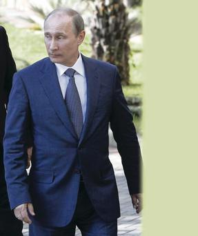 Eligible bachelor: Vladimir Putin is recently divorced