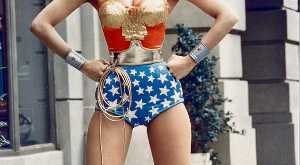 True colours: Wonder Woman Lynda Carter