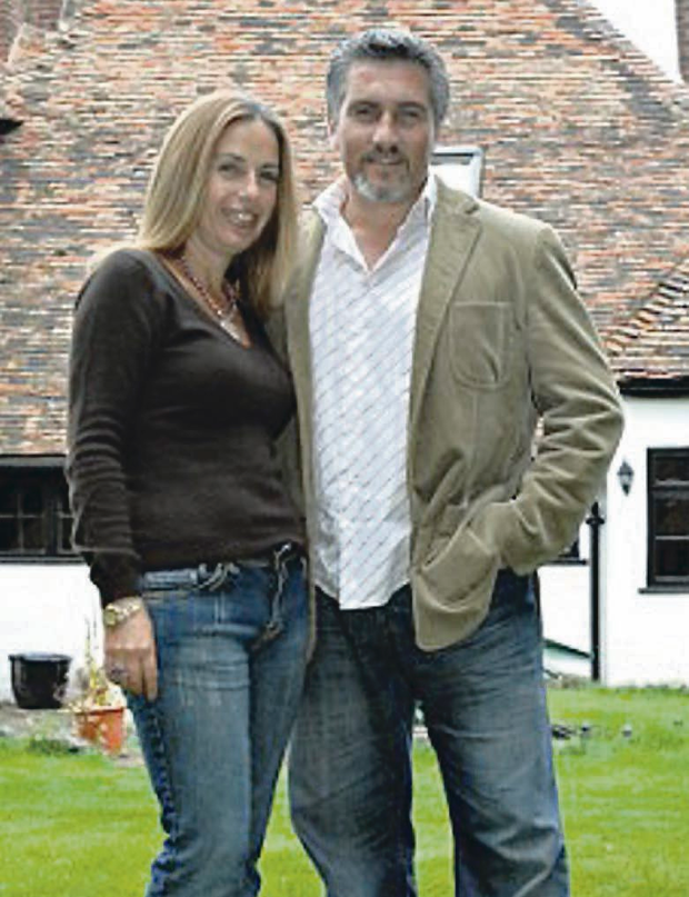 Marriage split: Paul Hollywood and his wife Alexandra