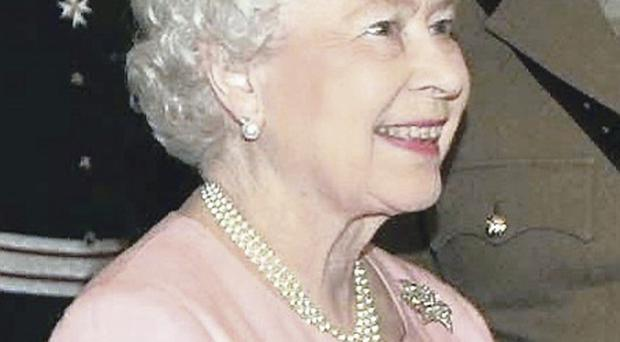 Maundy money: the Queen