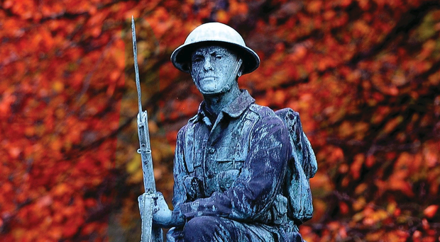 Lest we forget: it was The War To End All Wars