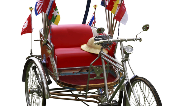 Wheely good: Is the rickshaw the answer to beating the traffic?