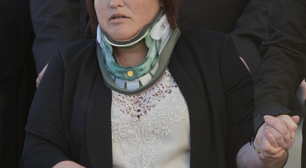 Needless loss: Sarah Gilmore whose son Adam was killed as they walked to school