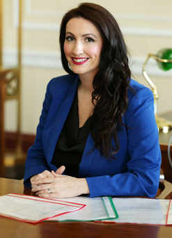 Rising star: Emma Pengelly is now a junior minister