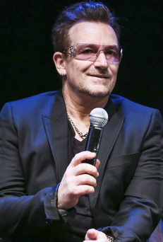 Personal view: from Bono's perspective, music was the target